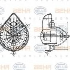 Ventilator, habitaclu PEUGEOT 405  1.6 - HELLA 8EW 009 157-581 - Motor Ventilator Incalzire