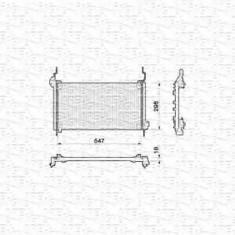 Condensator, climatizare FIAT BRAVA 1.9 TD 100 S - MAGNETI MARELLI 350203132000 - Radiator aer conditionat