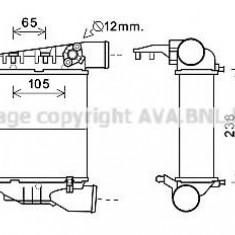 Intercooler, compresor AUDI A4 1.8 T - AVA QUALITY COOLING AI4248 - Intercooler turbo