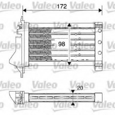 Incalzitor independent autovehicul NISSAN MARCH III 1.5 dCi - VALEO 812249