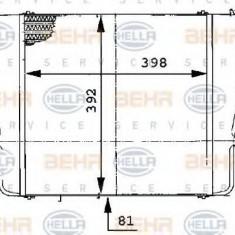 Intercooler, compresor - HELLA 8ML 376 724-141 - Intercooler turbo