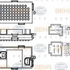 Reglaj, suflanta de interior BMW 7 limuzina 740 i - HELLA 5HL 351 321-531 - Motor Ventilator Incalzire