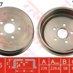 Tambur frana TOYOTA AVENSIS 1.6 - TRW DB4257 - Saboti frana auto