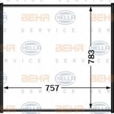 Intercooler, compresor RENAULT TRUCKS Magnum AE 385ti.18 - HELLA 8ML 376 727-541 - Intercooler turbo