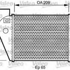 Intercooler, compresor AUDI A4 1.8 T - VALEO 818825 - Intercooler turbo