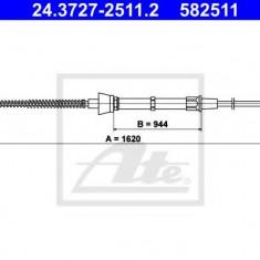 Cablu, frana de parcare SKODA OCTAVIA 1.6 - ATE 24.3727-2511.2
