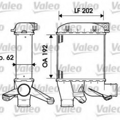 Intercooler, compresor BMW 5 Touring 525 tds - VALEO 817876 - Intercooler turbo