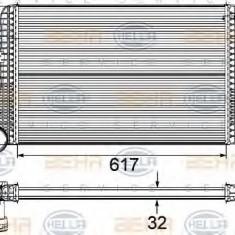 Intercooler, compresor AUDI A3 1.9 TDI - HELLA 8ML 376 746-121 - Intercooler turbo