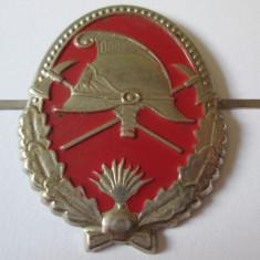 RAR! CUC/SEMN ARMA CASCHETA POMPIERI ANII 90
