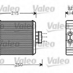 Schimbator caldura, incalzire habitaclu VW POLO 1.6 BiFuel - VALEO 812323 - Sistem Incalzire Auto