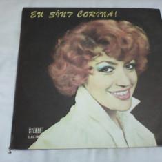 DISC VINIL CORINA CHIRIAC EU SUNT CORINA RAR!!EDE 01899 STARE EXCELENTA - Muzica Pop
