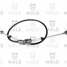 Cablu, transmisie manuala FIAT PUNTO EVO 1.3 D Multijet - MALÒ 29505 - Comanda cutie viteze