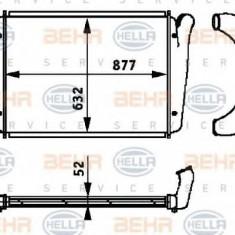 Intercooler, compresor - HELLA 8ML 376 724-341 - Intercooler turbo