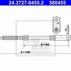 Cablu, frana de parcare MERCEDES-BENZ S-CLASS limuzina 300 SD - ATE 24.3727-0455.2
