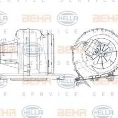 Ventilator, habitaclu RENAULT KANGOO 1.2 - HELLA 8EW 009 157-051 - Motor Ventilator Incalzire
