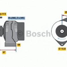 Generator / Alternator ROVER CABRIOLET 216 1.6i 16V - BOSCH 0 986 044 621 - Alternator auto