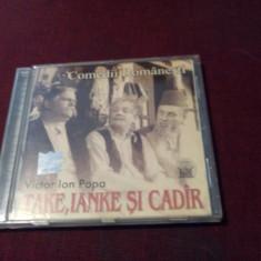 CD COMEDII ROMANESTI TAKE IANKE SI CADIR TEATRU RADIOFONIC - Muzica soundtrack, VINIL