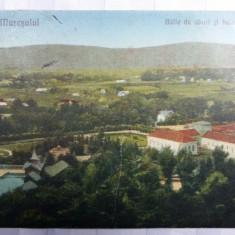 OCNA MURES - BAILE DE ABUR SI BAIA LIBERA - INCEPUTUL ANILOR 1900 - Carte Postala Transilvania 1904-1918, Circulata, Fotografie