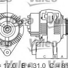 Generator / Alternator - VALEO 439293 - Alternator auto