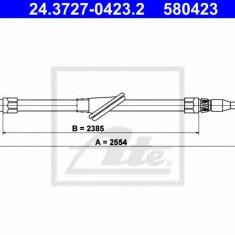 Cablu, frana de parcare MERCEDES-BENZ C-CLASS limuzina C 200 D - ATE 24.3727-0423.2
