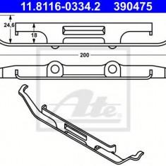 Arc, etrier frana BMW X5 4.6 is - ATE 11.8116-0334.2 - Arc - Piston - Garnitura Etrier