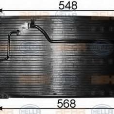 Condensator, climatizare MAZDA MX-6 2.0 - HELLA 8FC 351 301-131 - Radiator aer conditionat
