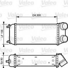Intercooler, compresor PEUGEOT 206 hatchback 1.6 HDi 110 - VALEO 818822 - Intercooler turbo