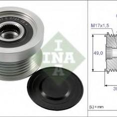 Sistem roata libera, generator - INA 535 0158 10 - Fulie