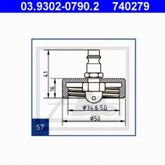 Stut aerisire - ATE 03.9302-0790.2