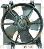 Ventilator, radiator HYUNDAI EXCEL II 1.3 - HELLA 8EW 351 034-451, PIERBURG