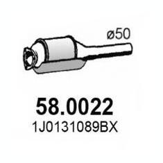 Catalizator VW GOLF Mk IV 1.4 16V - ASSO 58.0022 - Sonda Lambda