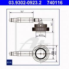 Stut aerisire - ATE 03.9302-0923.2