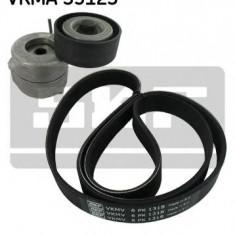 Set curea transmisie cu caneluri - SKF VKMA 35123 - Kit curea transmisie