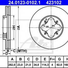 Disc frana ROVER 600 620 i - ATE 24.0123-0102.1 - Discuri frana REINZ