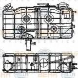 Vas de expansiune, racire IVECO P/PA 190-30 H - HELLA 8MA 376 705-221