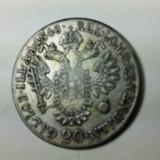 20 KREUZER 1848 A - FERDINAND I - AUSTRIA - ARGINT, Europa