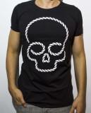 Cumpara ieftin Tricou - tricou club tricou cap mort tricou negru tricou slim cod - 43, L