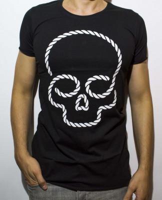 Tricou - tricou club tricou cap mort tricou negru tricou slim cod - 43 foto