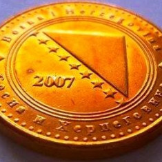 Moneda 10 Feninga - BOSNIA HERTEGOVINA, anul 2007 *cod 3044 -- A.UNC