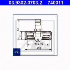 Stut aerisire - ATE 03.9302-0703.2