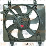 Ventilator, radiator HYUNDAI LAVITA 1.6 - HELLA 8EW 351 034-481, PIERBURG