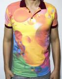 Cumpara ieftin Tricou - tricou club tricou bule tricou polo tricou colorat cod - 45, M, S, XL