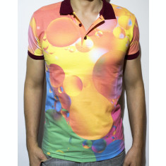 Tricou - tricou club tricou bule tricou polo tricou colorat cod - 45
