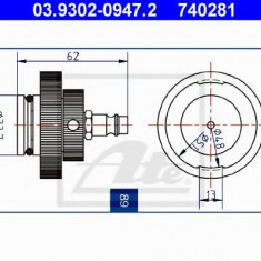 Stut aerisire - ATE 03.9302-0947.2
