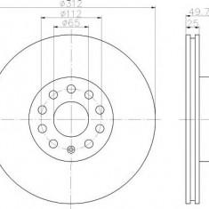 Disc frana - TEXTAR 92120500 - Discuri frana