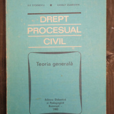 DREPT PROCESUAL CIVIL - ILIE STOENESCU - Carte Drept procesual civil