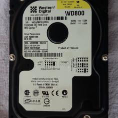 HARD DISK WESTERN DIGITAL 80 GB, FUNCTIONEAZA ., 40-99 GB, IDE