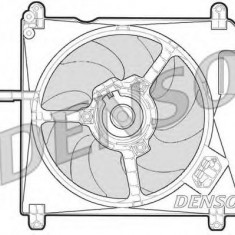 Ventilator, radiator FIAT MAREA 1.4 80 12V - DENSO DER09010 - Ventilatoare auto