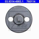 Adaptor, dispozitiv de resetare piston etrier - ATE 03.9314-4983.1