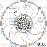 Ventilator, radiator OPEL CORSA D 1.4 LPG - HELLA 8EW 351 034-291, PIERBURG